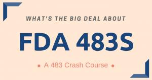 FDA 483s Resource Center