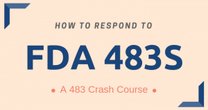 How to Respond to 483s