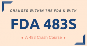 Changes in the FDA