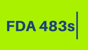 New Featured FDA 483s