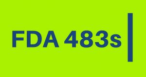 New FDA 483s