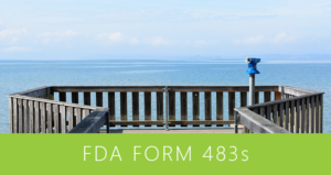 FDA Form 483s - March