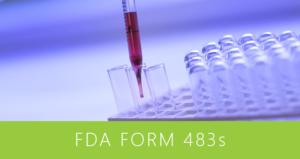 FDA Form 483s - May