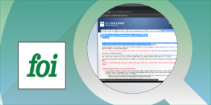FOI Services Header Image
