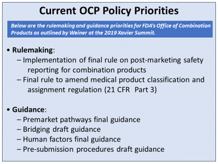 Current OCP Policy Priorities