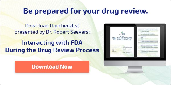 Be prepared for your drug review. Download the checklist presented by Dr. Robert Seevers.